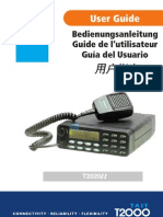 Tait 2000 Radio Manual