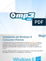 Windows 8 - Manual de Instalación - Mp3.es
