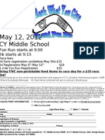 Race Registration Form