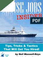 Cruise Ship Jobs Insider