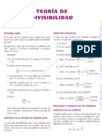 TEORÍA DE DIVISIBILIDAD LEX