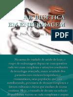 ÉTICA E BIOÉTICA EM ENFERMAGEM - aula 01
