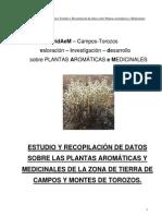 Plantas medicinales de Tierra de Campos y Montes Torozos