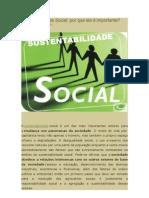 Sustentabilidade Social 1