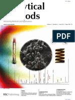 Differentiation of Bacillus Endospore Species From Fatty Acid Methyl Ester