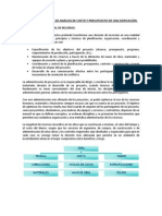 ANÁLISIS DE COSTO Y PRESUPUESTO DE UNA EDIFICACIÓN