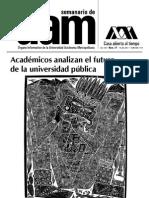 SEMANARIO UAM, Num37. Publicacion Aprobacion Licenciatura Sociologia