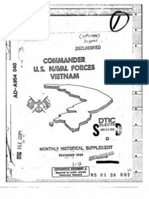 U.S. Naval Forces Vietnam Monthly Historical Summary Dec 1969 ... on