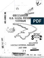 U.S. Naval Forces Vietnam Monthly Historical Summary July 1969