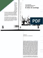 Bourdieu Oficio Del Sociologo 11 81