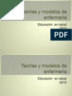 Teorías y modelos de enfermeria (2)