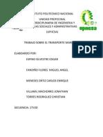 Reporte de Transporte Maritimo
