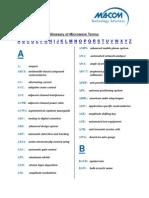 Macom Glossary Acronyms (1)