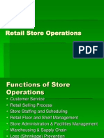 Retail Store Operations 1