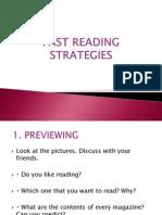 Fast Reading Strategies