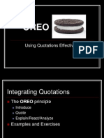 Oreo Ppt in Marketing