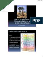 Contexto Geológico y Paleoambiental de la Evolución Humana