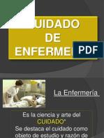 Cuidado de Enfermería -Filosofía