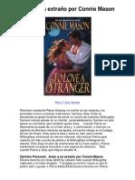 Amar a un extraño por Connie Mason - Averigüe por qué me encanta!