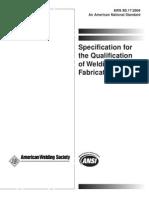 AWS Fabricator b5.17-04
