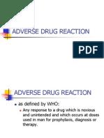 Adverse Drug Reaction
