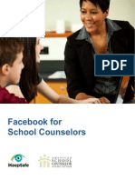 Facebook for School Counselors Guide