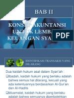 Bab II Konsep Akuntansi Untuk Lembaga Keuangan Syari Ah