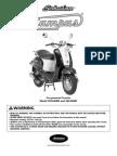 50cc Campus Owner Manual