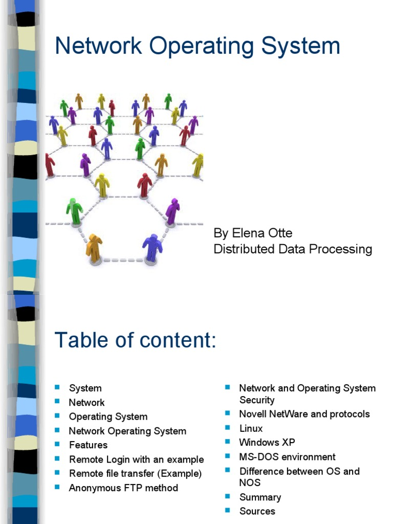 Network Operating Systems | Operating System | File ...