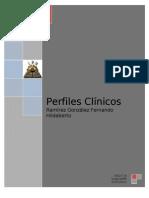 Evidencias Parcial a Perfiles Clinicos