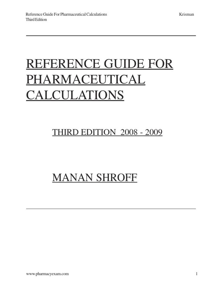 Pharmaceutical Calculation pdf 2 | Renal Function | Creatinine