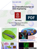 PRESENTACION(Self-Assembly of Nano Bio Materials for Tissue Engineering)
