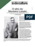 Monteiro Lobato gostava de conversar com a menina Emília