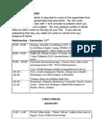 08-09 Senior POL Schedule Wednesday