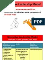 Normative Leadership Model