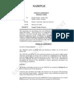 Vendor Agreement