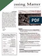 DVC-GBW Spring 2001 Newsletter