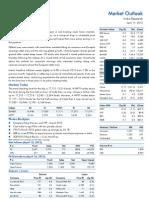 Market Outlook 17th April 2012