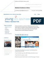Weekly Newsletter #8 2012