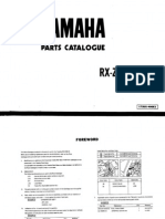 19871006 Yamaha RXZ 5SPEED Owner Manual