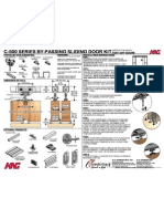 Door C-500 Kit Instruction Sheet
