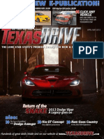 Texas Drive Magazine - April - May 2012