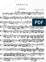 Marcello Benedetto Sonata 1 Trombone Piano
