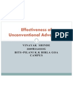 Effectiveness of Unconventional Advertising