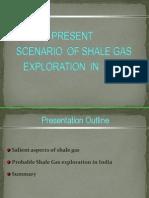Scenario of Shale Gas Exploration in India