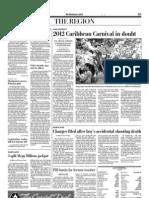 2012 Caribbean Carnival in doubt (The Washington Post)