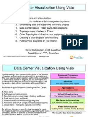 Data Center Visualization With Visio | Data Center | Network