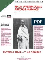 V. Diplomado en Derechos Humanos. Cartel