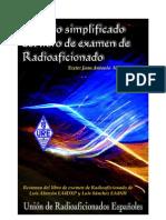 Temario Simplificado Del Libro de Examen de Radio Aficionado