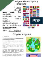 Lenguas en La Biblia